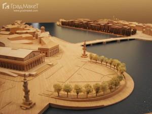 Макет для  международного архитектурно-градостроительного конкурса на Проект «Набережная Европы» 1