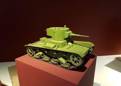 Макет танка Т-26
