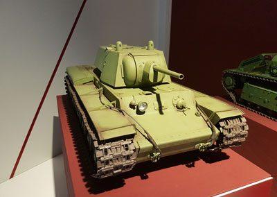 Модель танка КВ