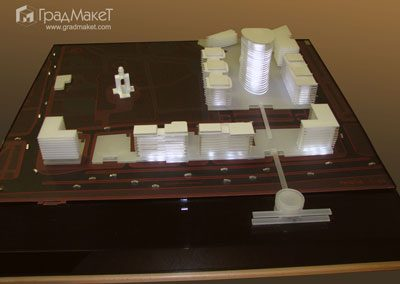 Концептуальный макет комплекса ОАО «Банк Санкт-Петербург»