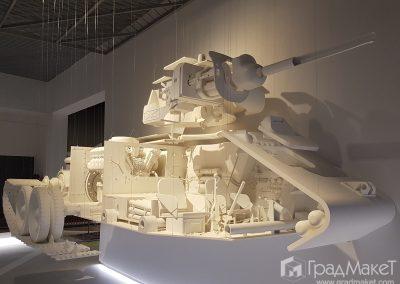 Макет танка Т-34-76